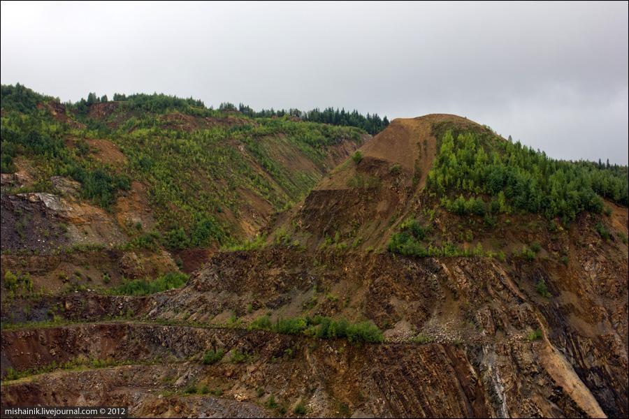 Центральный карьер горы Иркускан