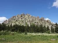 Откликной гребень (Вид с поляны)