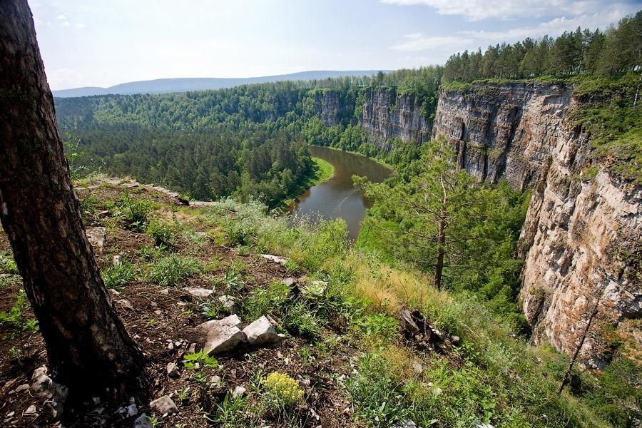 Южный Урал, июнь 2013, река Ай
