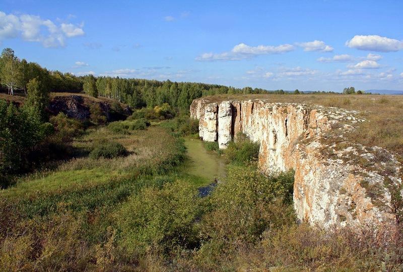 Устиновский каньон. Южный Урал, река Миасс.
