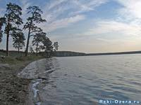Берега озера Силач.