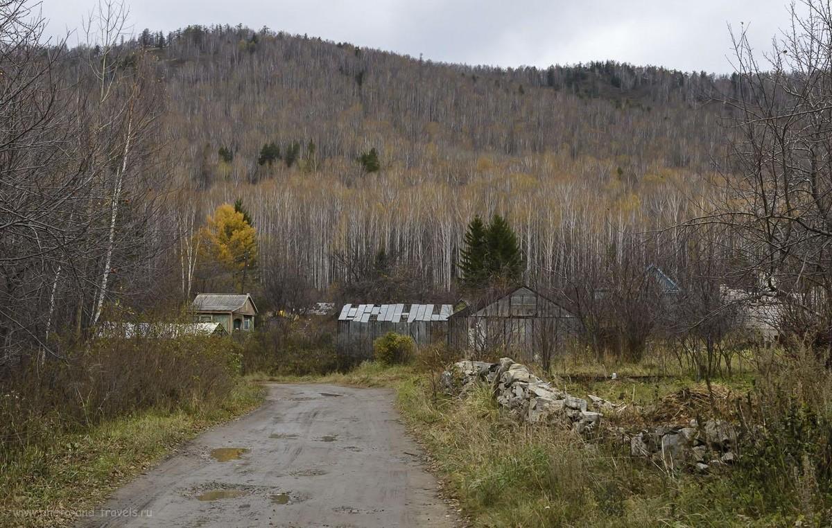 Фото 4559. Осенние склоны Вишневых гор (могу ошибаться, может, этот хребет по-другому называется). 1/125, -1.0, 10.0, 1600, 52.