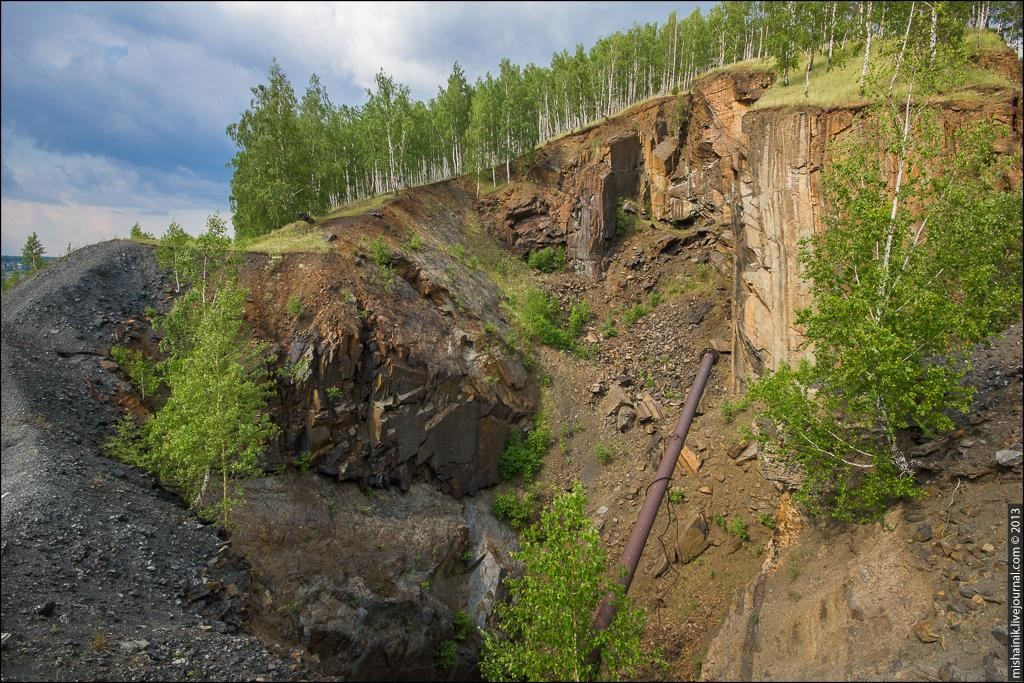 Златоустовский рудник Магнитка - Кусинское титано-магнетитовое месторождение