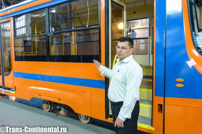 Генеральный Конструктор трамваев Сергей Иванов
