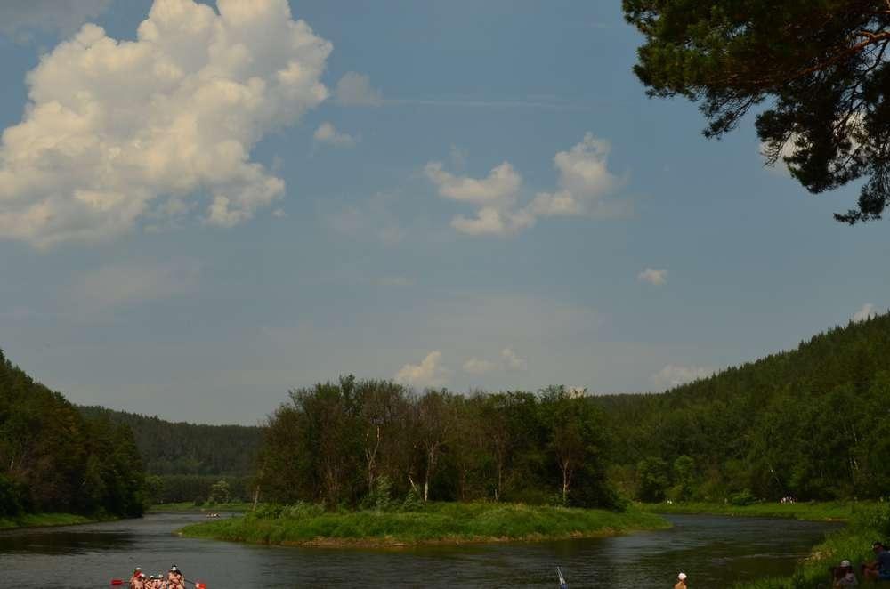 река ай раздвоенное русло