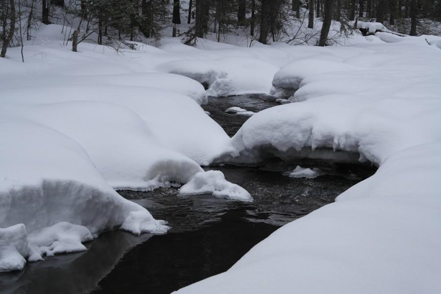Просыпается река Тюлюк