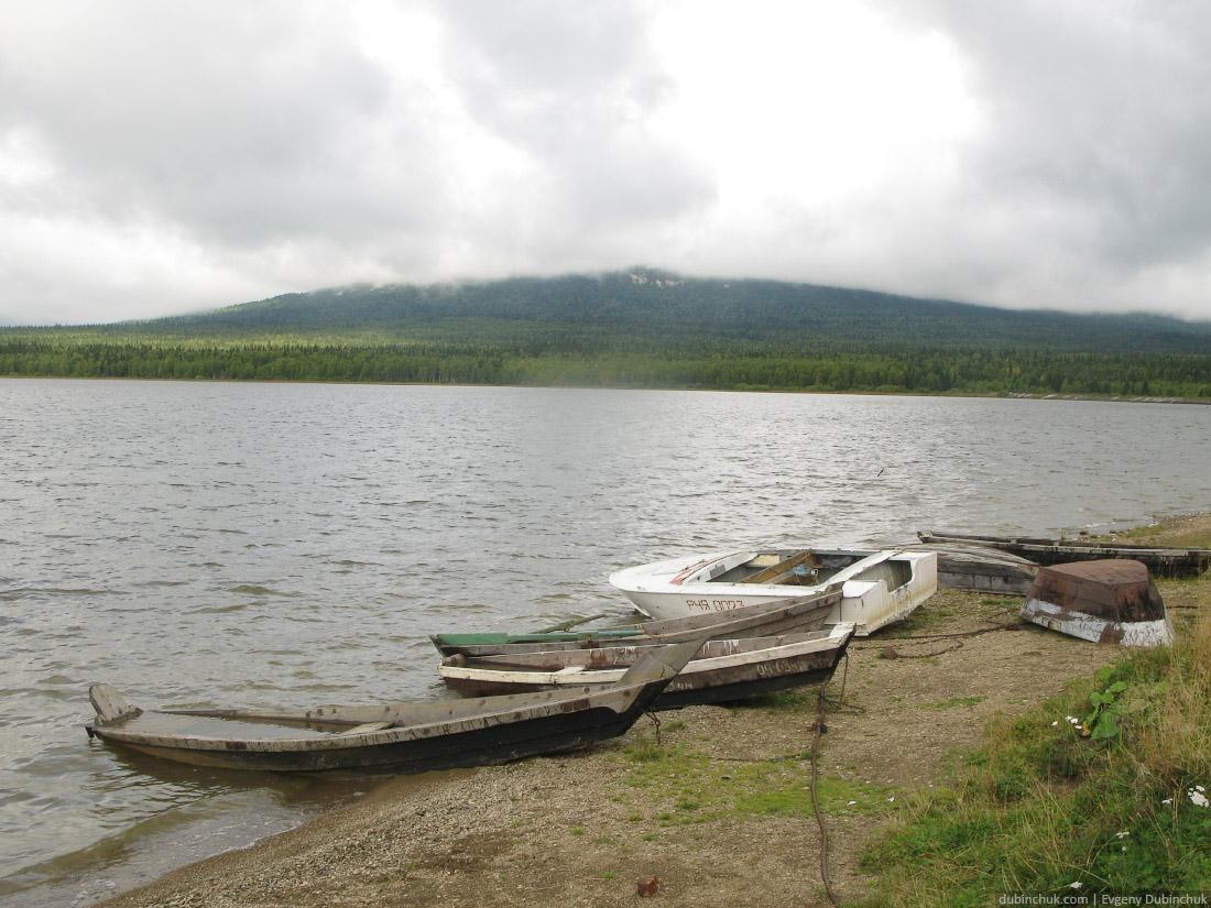 Озеро Зюраткуль. Путешествие по Уралу на велосипеде в одиночку.