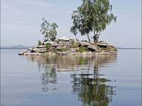 Остров на Аргазниском водохранилище Автор: Alex.S