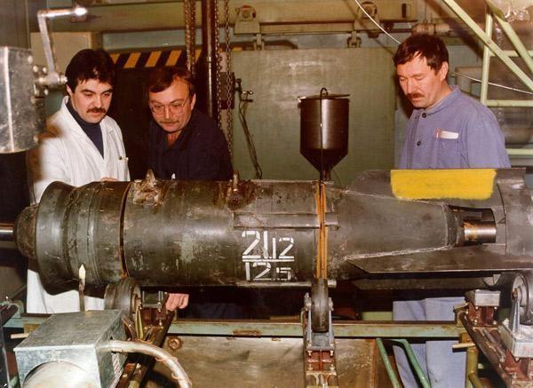 Разрезание авиабомбы, утилизация боеприпасов