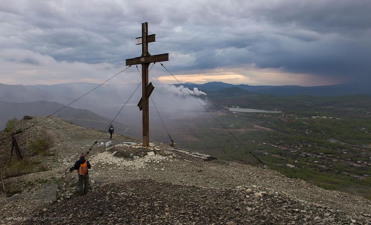 25. Поклонный крест на горе Лысая в городе Карабаш Челябинская область (1600, 27, 9.0, 1/200)