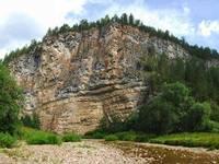 Суходол реки Сим.