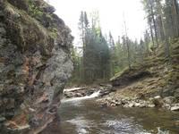 Ларкино ущелье. Река Тюлюк.