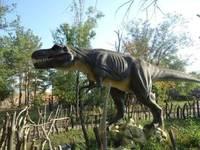 Динопарк «Динозаврик». Экспозиция 2012-2013 гг. Тиранозавр.