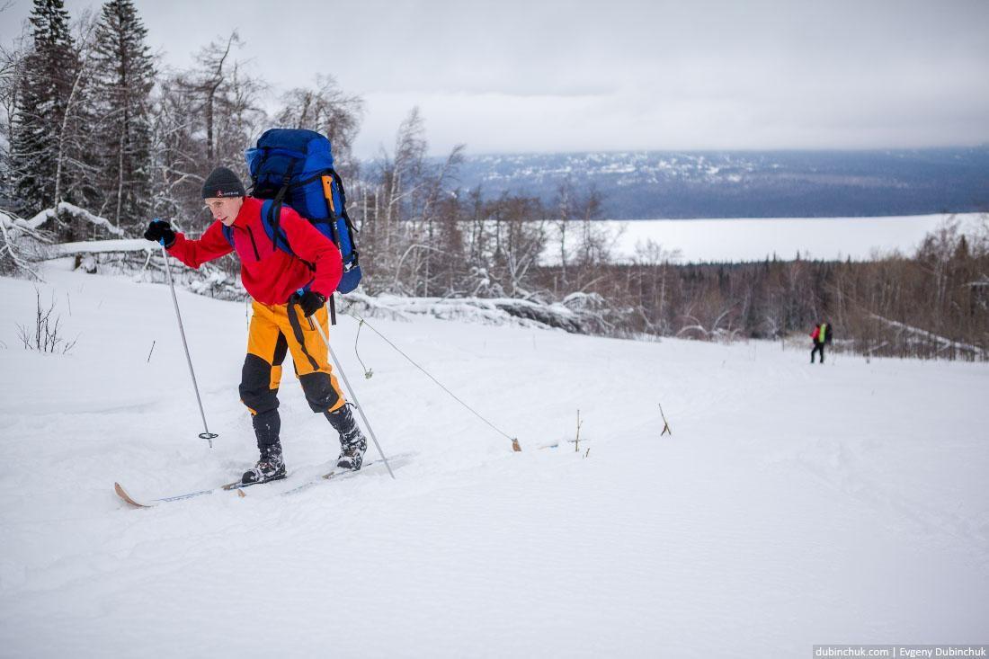 Поход на лыжах. Южный Урал, Челябинская область