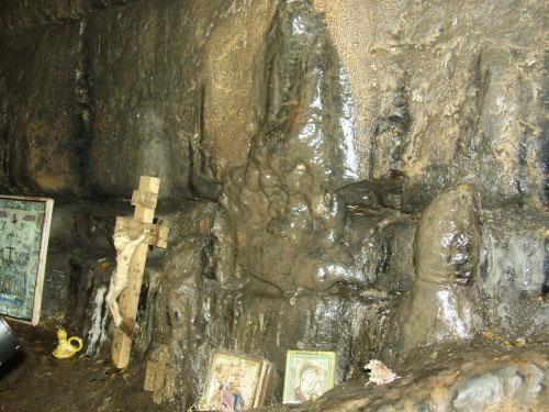 Образ Богородицы в Игнатьевской пещере