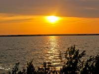 Озеро Каинкуль. Вечер. Автор: Юрий Карачев.