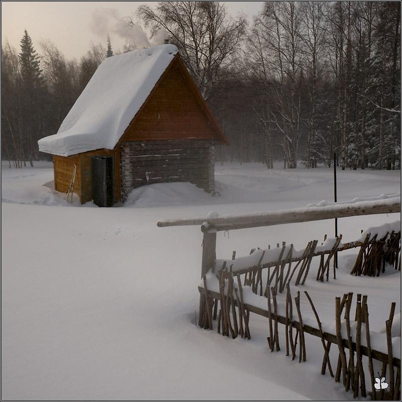 Домик в приюте Таганай