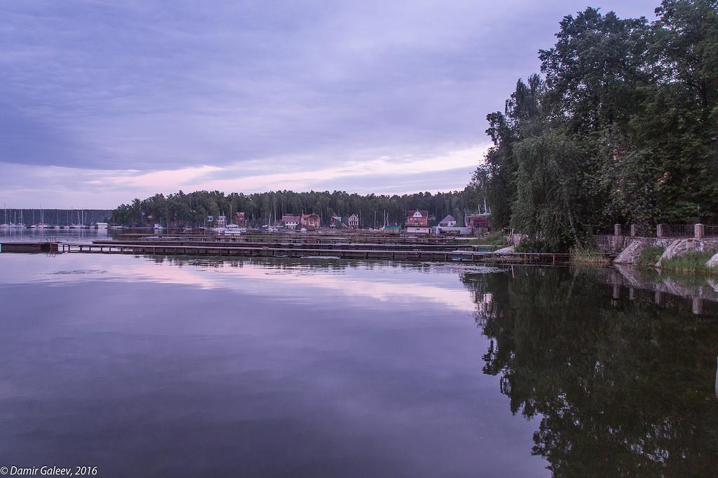 Закат на озере Увильды 17 июня 2016 года   Путеводитель по ...