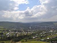 Вид на город Сим.