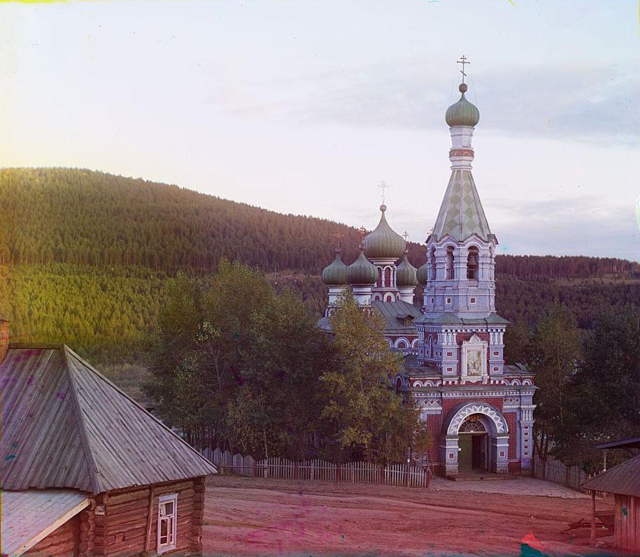 Церковь Иоанна Предтечи в селении Ветлуга. Златоуст.