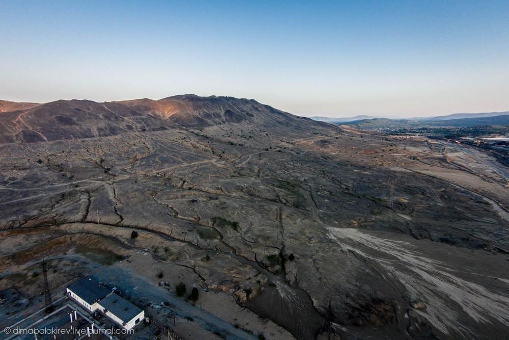 Карабаш с высоты — самый грязный город мира