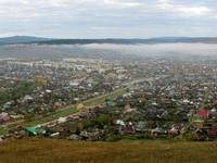 Панорама утреннего Сима. Автор: Евгений Скоморохов.