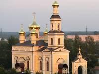 Кыштым. Церковь во имя Святителя Николая Чудотворца.