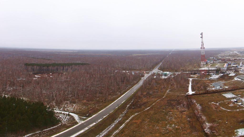 Дорога из Челябинска