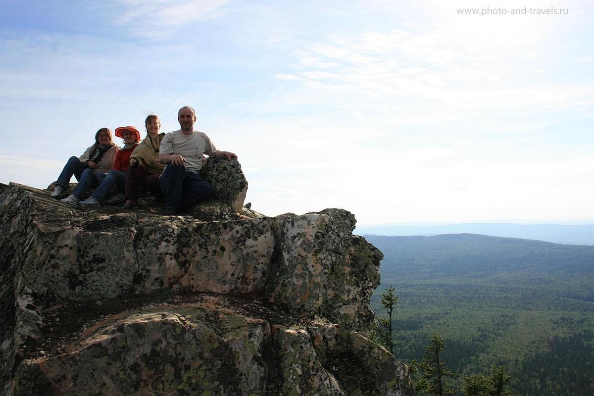 6. Отдых в горах национального парка Таганай. Блаженные минуты