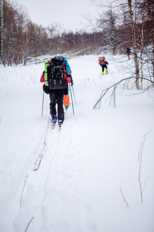 """Запасная лыжа - """"машка"""". Необходимый атрибут в лыжном походе"""