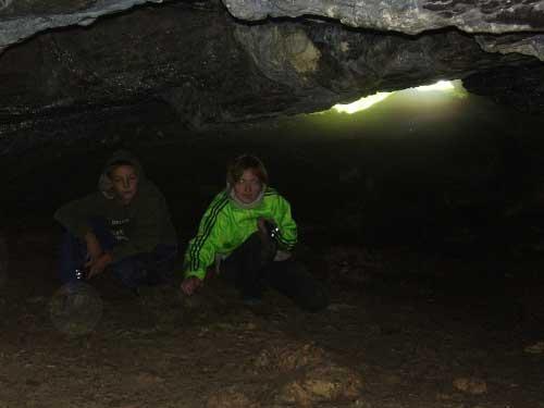 Серпиевские пещера - Игнатьевская пещера