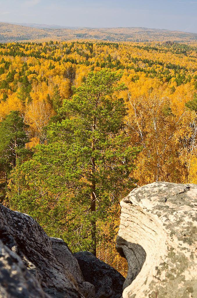 12. Золотая осень в Уральских горах