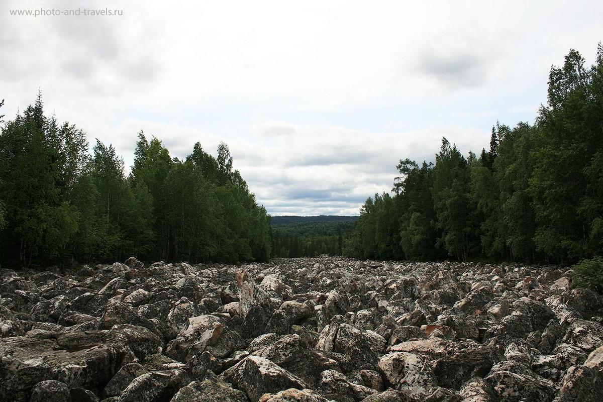 23. Большая Каменная Река (курум) в Национальном Парке Таганай
