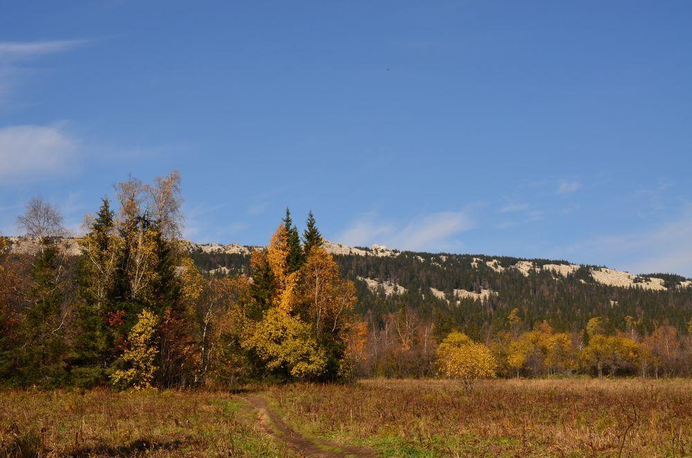 Осеннее фото хребта зюраткуль