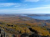 Вид на озеро Банное. Автор: Минигюль Мусина.