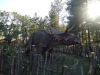 Динопарк «Динозаврик». Экспозиция 2012-2013 гг. Динозавр.