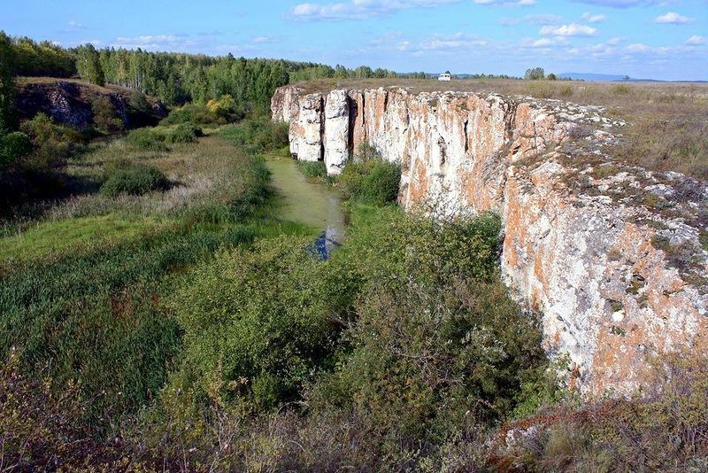 Устиновский каньон. Река Миасс. Южный Урал.