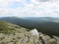 Вид с вершины Круглицы