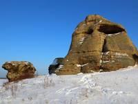 Аллакские каменные палатки 5