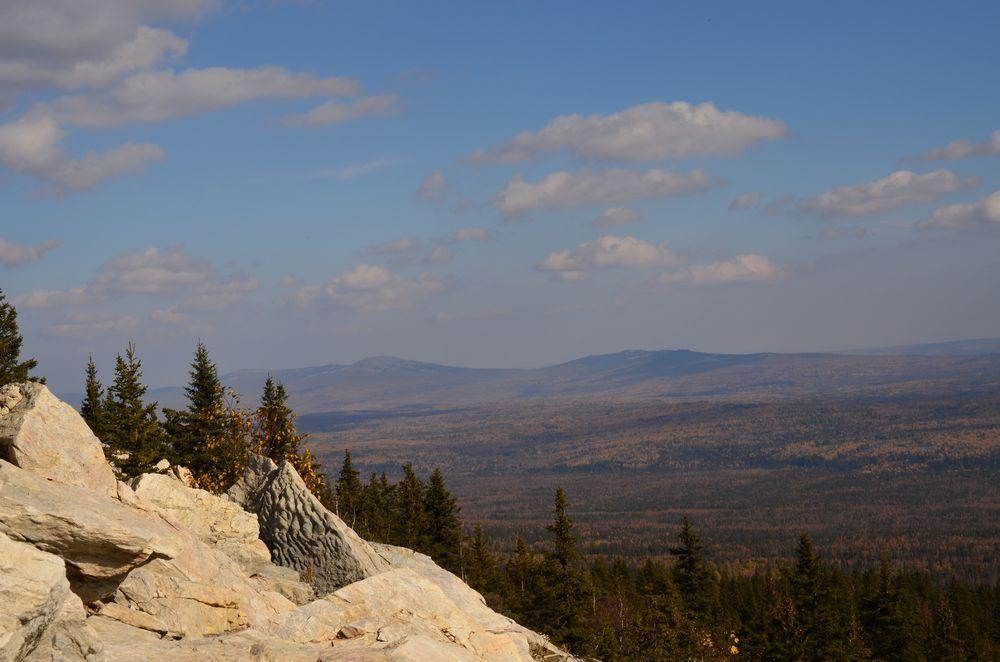 На вершине Хребта Зюраткуль