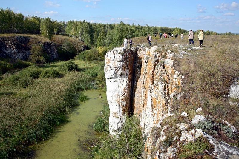 Устиновский каньон. Южный Урал.